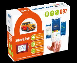 Автосигнализация StarLine D97 2SIM LTE-GPS с автоматическим запуском двигателя
