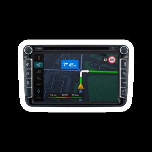 Штатная магнитола Phantom DVM-SK01  на платформе Яндекс Авто для автомобилей Skoda Rapid 2014+