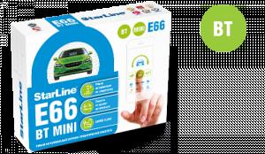 Автосигнализация StarLine E66 BT mini с обратной связью
