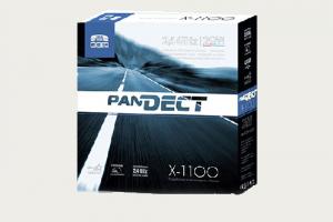 Автосигнализация  Pandeсt X-1100 с автоматическим запуском двигателя