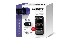 Автосигнализация Pandect X-1800 BT с автоматическим запуском двигателя