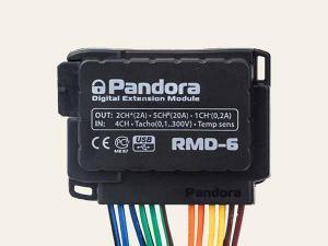 Комплект релейный модуль Pandora RMD-6 DXL