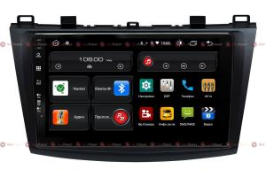 Штатная магнитола Redpower 61034 IPS ANDROID 10 для автомобилей Mazda 3 (2009-2013 гг.)
