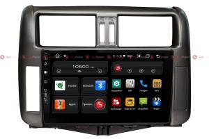 Штатная магнитола Redpower 61065  IPS ANDROID 10 для автомобилей Toyota Land Cruiser Prado 150 (2010-2014)