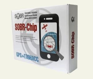 GPS-маяк SOBR Chip13 GPS+GLONASS