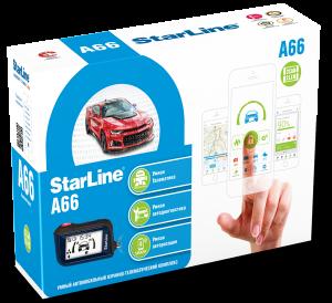 Автосигнализация StarLine A66 2CAN+2LIN с обратной связью