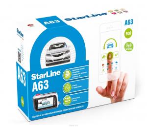 Автосигнализация StarLine A63 GSM ECO с обратной связью