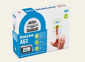 автосигнализация StarLine A63 eco с обратной связью