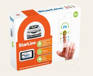 Автосигнализация StarLine E63 с обратной связью