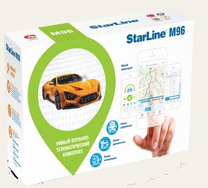 Автосигнализация StarLine M96SL с автоматическим запуском двигателя