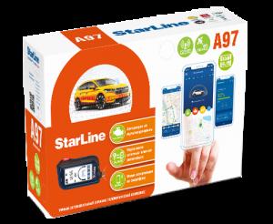 Автосигнализация StarLine A97 GSM GPS с автоматическим запуском двигателя