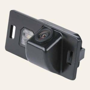 Штатная камера заднего вида MyDean VCM-393C для автомобилей Skoda Fabia (2013-), Yeti (2013-)