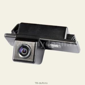 Штатная камера заднего вида MyDean VCM-307 для автомобилей Peugeot 307 (hatchback), 307CC, 407, 408, 308CC