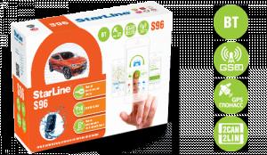 Автосигнализация StarLine S96 BT 2CAN+2LIN GSM GPS с автоматическим запуском двигателя
