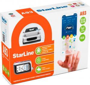 Автосигнализация StarLine A93 2CAN+2LIN GSM ECO с автоматическим запуском