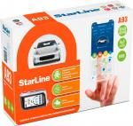 Автосигнализация StarLine A93 2CAN+2LIN GSM ECO с автоматическим запуском
